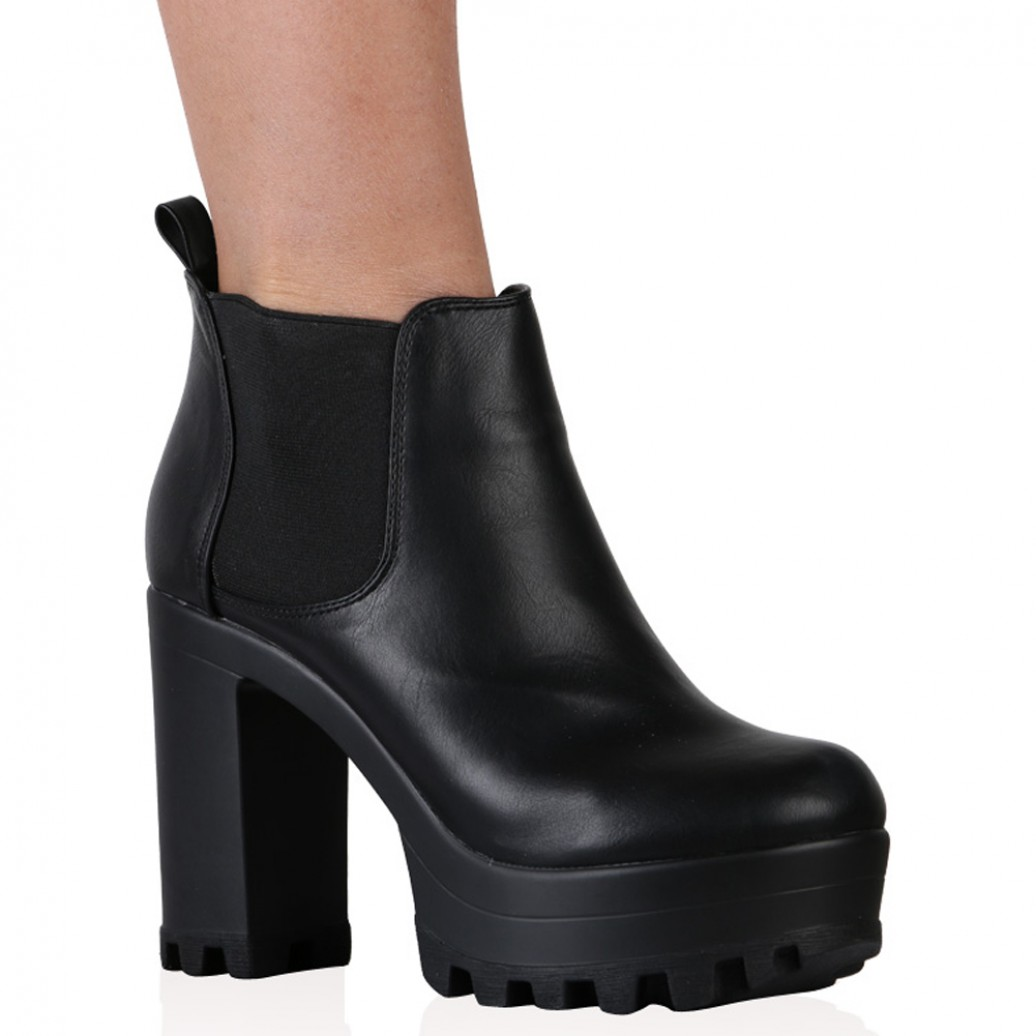 Ankle Boots Black WNE85XMM