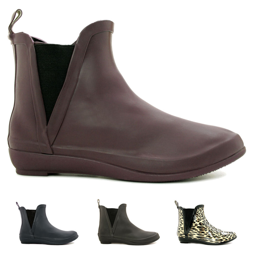 Ankle Rain Boots For Women ByZ58ibR