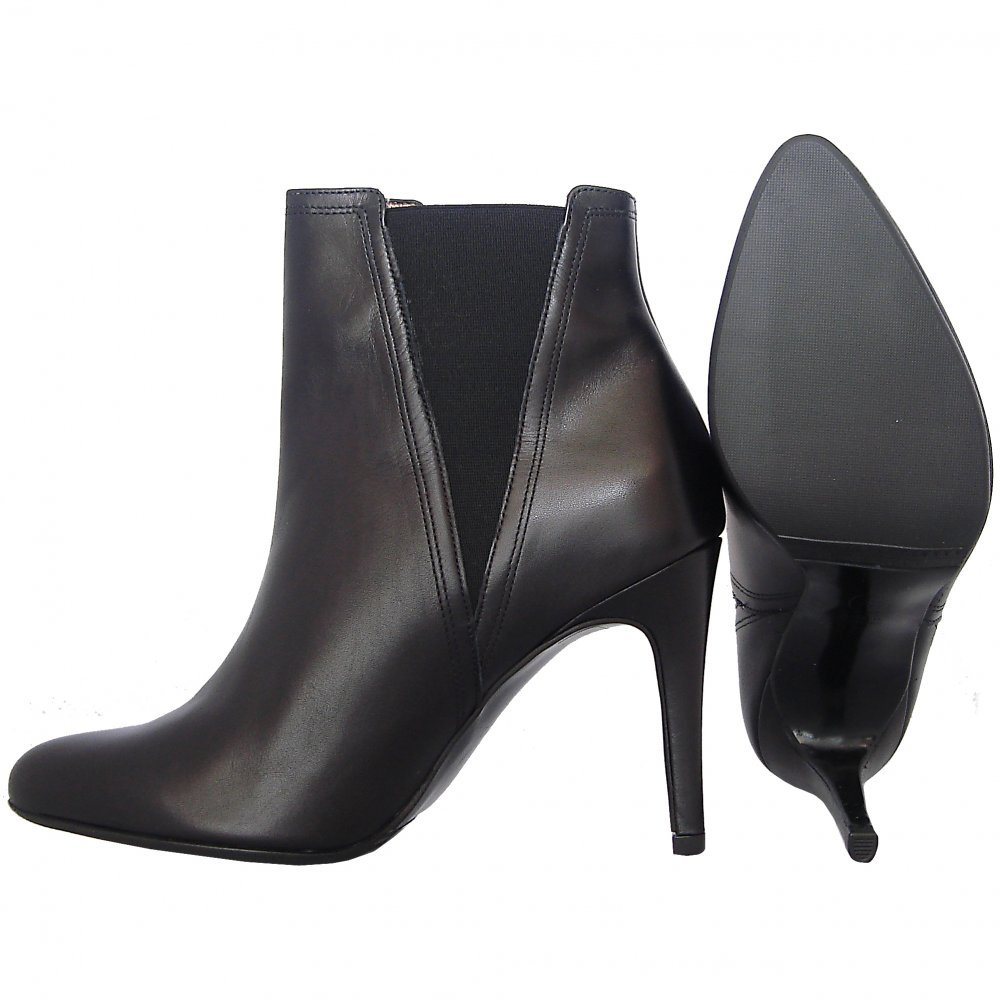 Black Ankle Boots With Heel O29j8h10