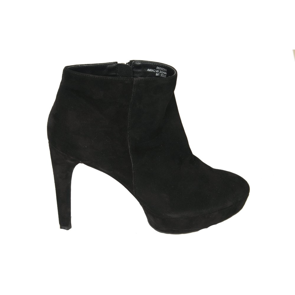 Black Ankle Boots With Heel Ee94eZho
