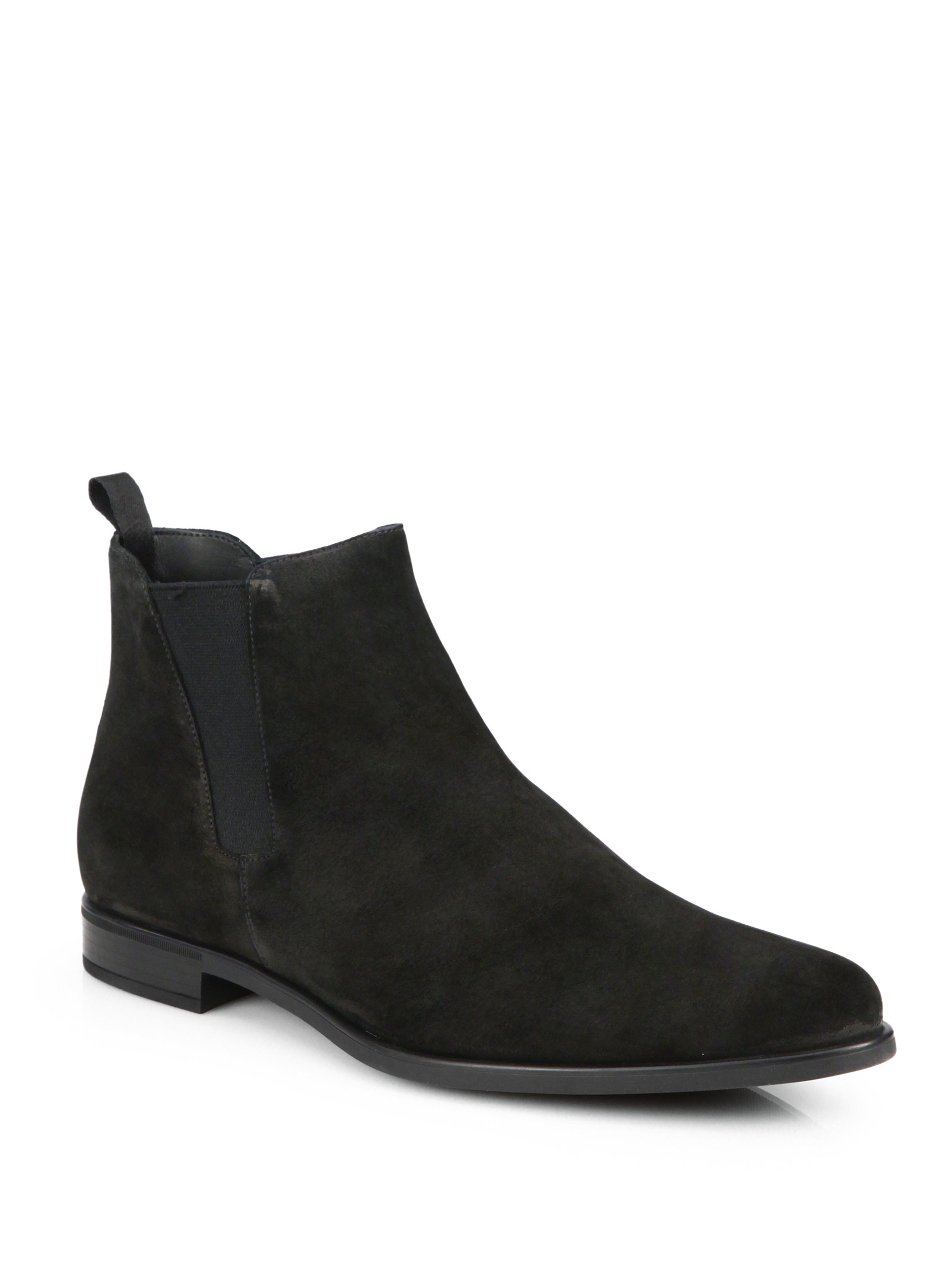 Black Chelsea Boots Men XHUaWXNA
