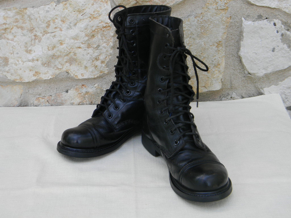 Black Combat Boots For Men 5v2ofkX8