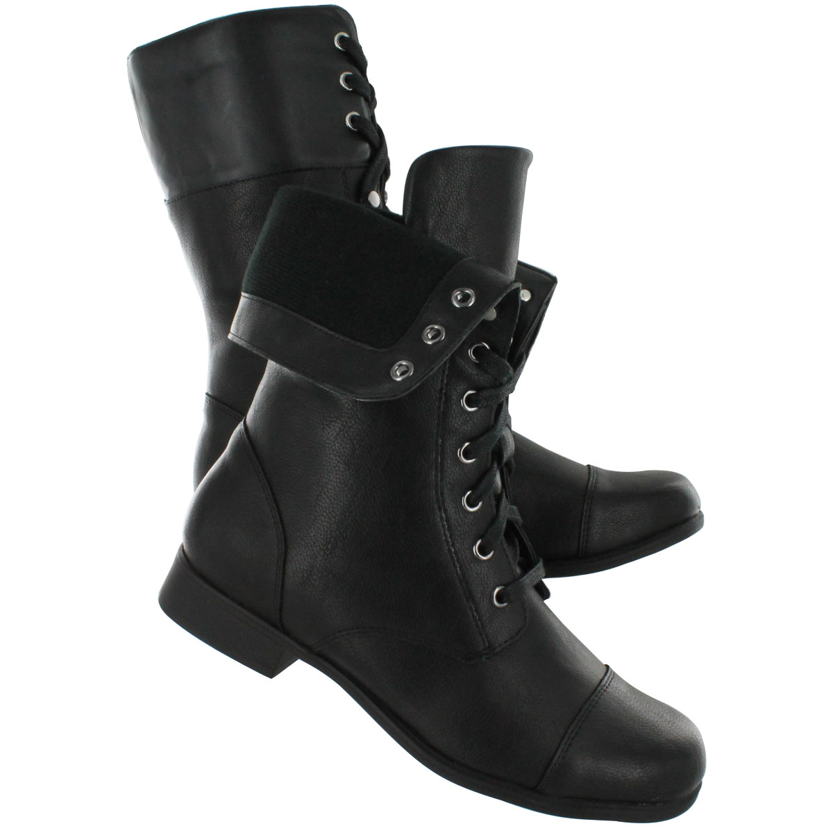 Black Combat Boots Womens WoeQEFlX