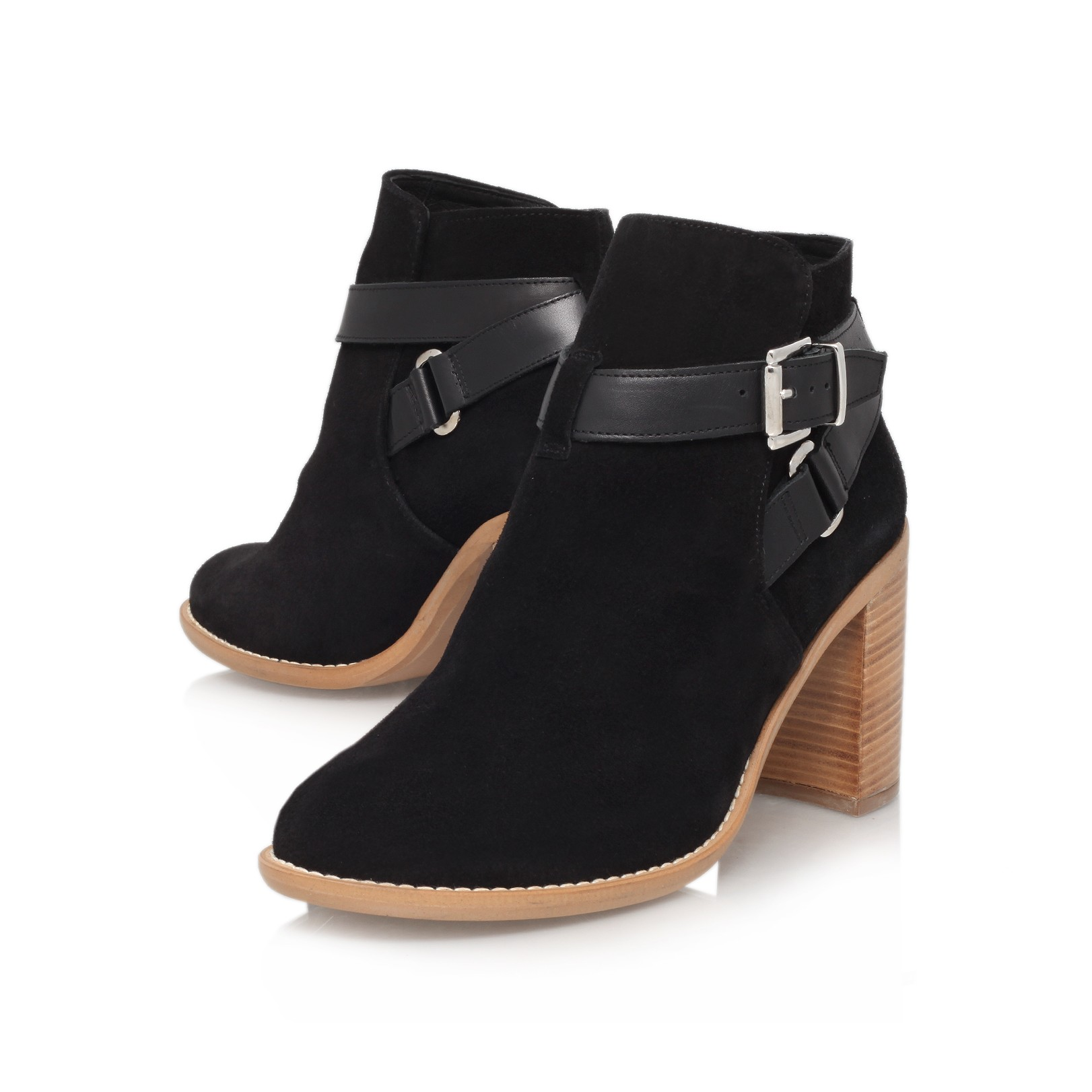 Black Heel Ankle Boots cbPVBnII
