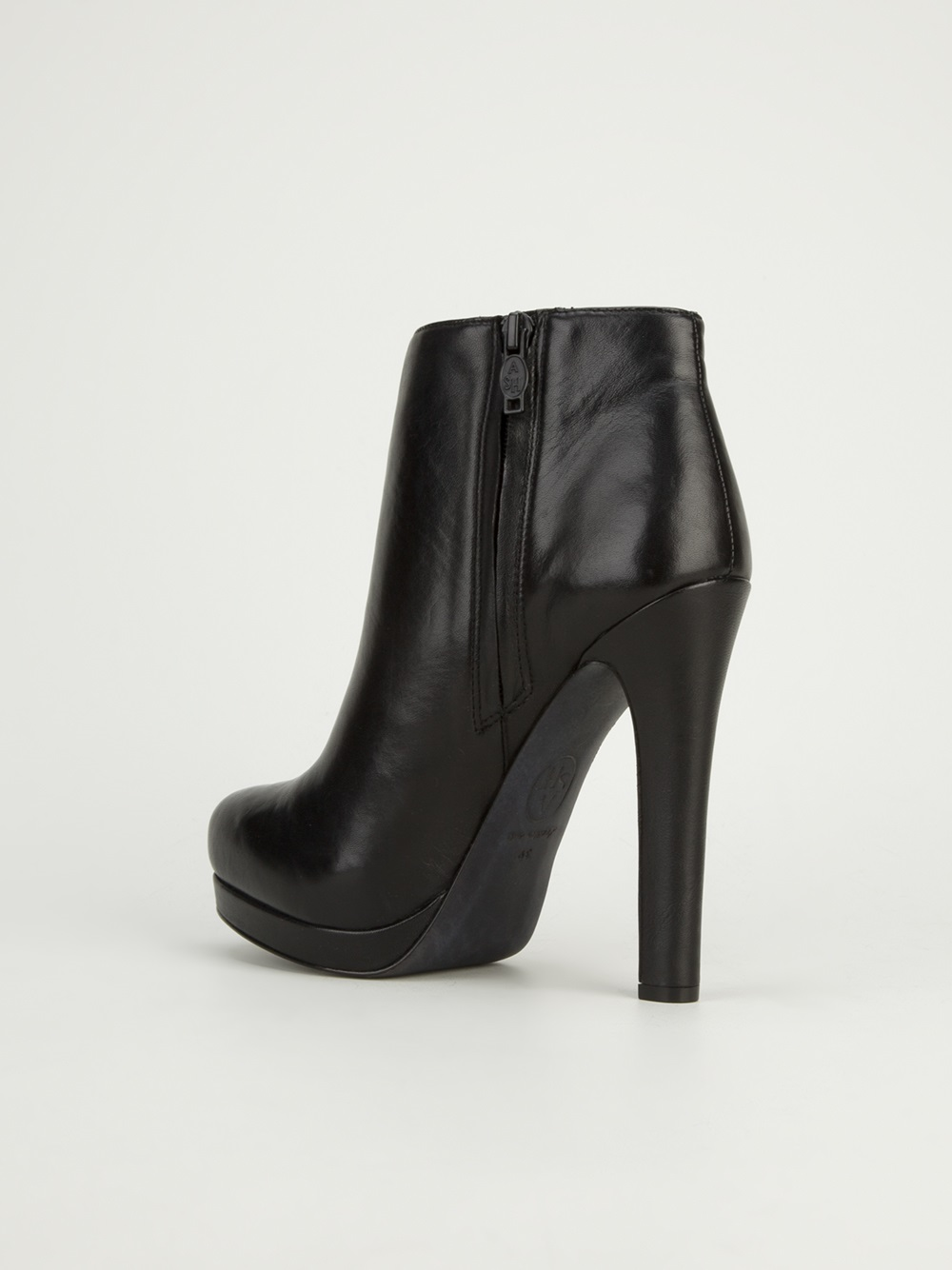Black High Heel Ankle Boots e54cs4rD