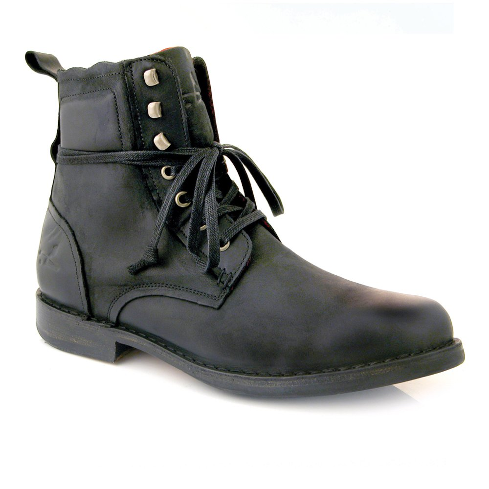 Black Leather Boots Mens yaw2F7WC