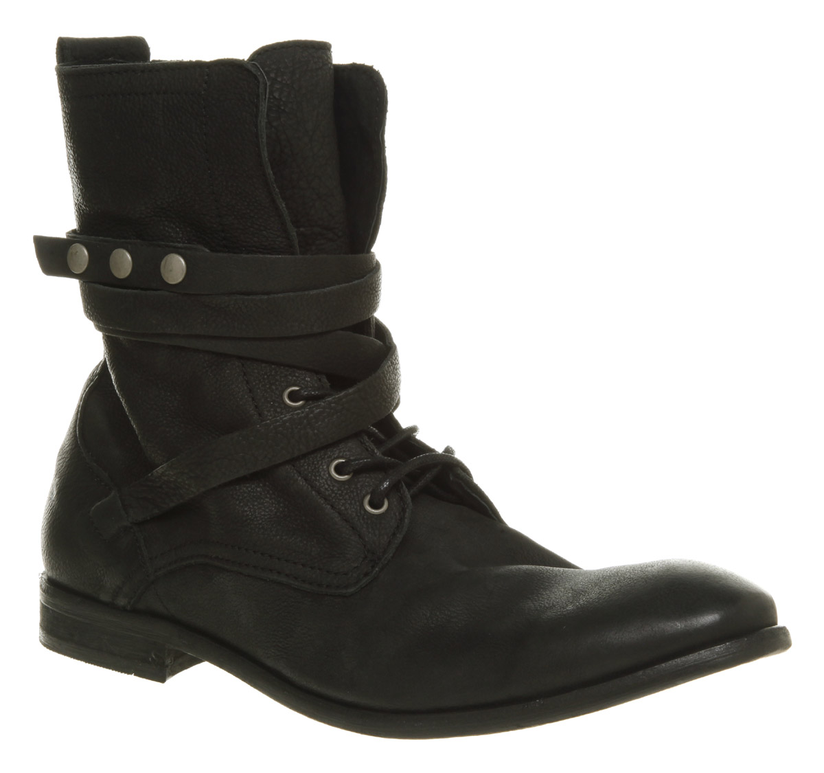 Black Leather Boots Mens 2DaiX3Ok