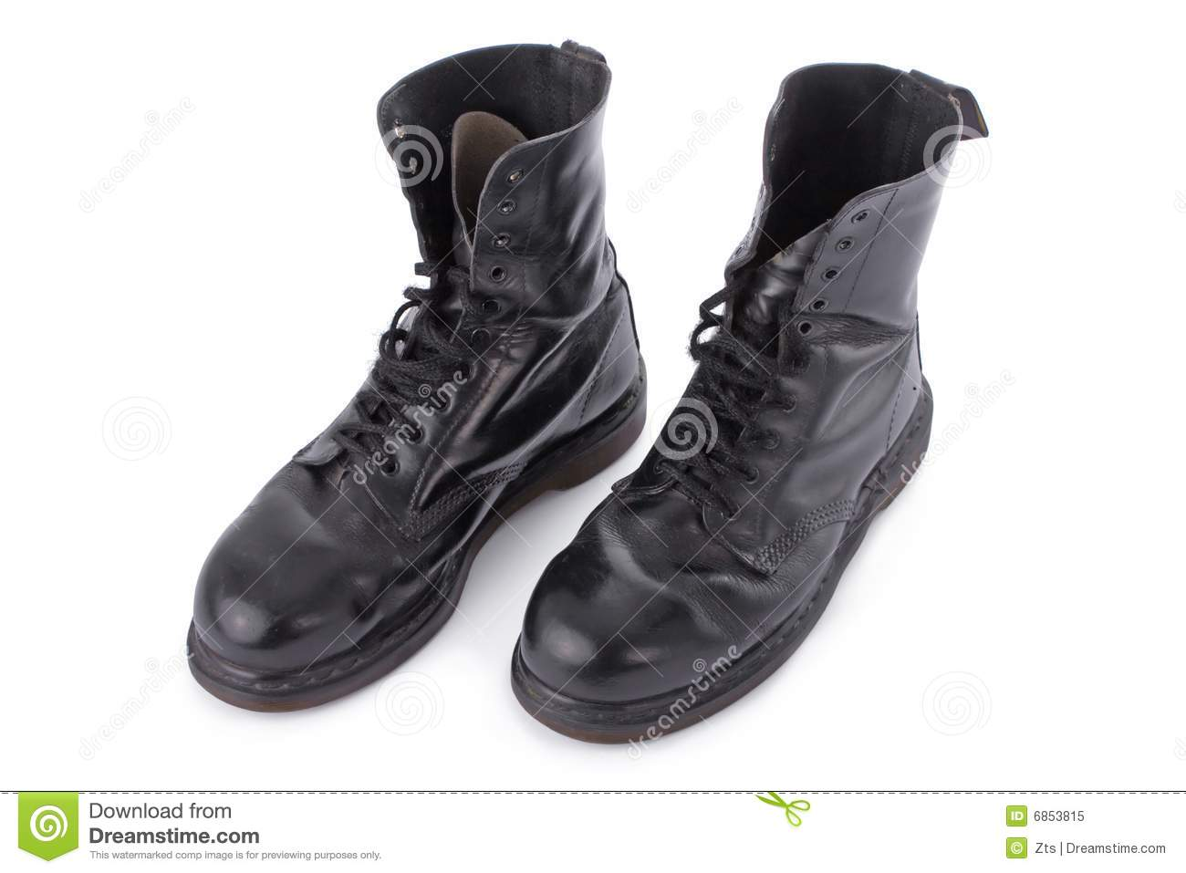 Black Leather Work Boots ZnlQxUp5