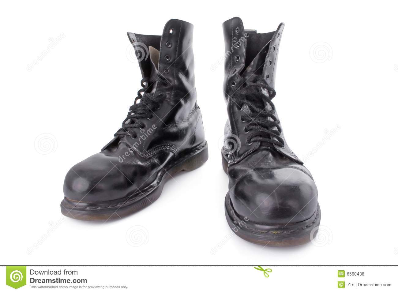 Black Leather Work Boots 9unqhdd2