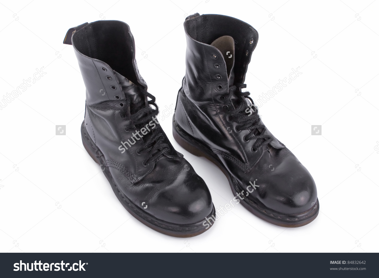 Black Leather Work Boots Z1b9p6MB