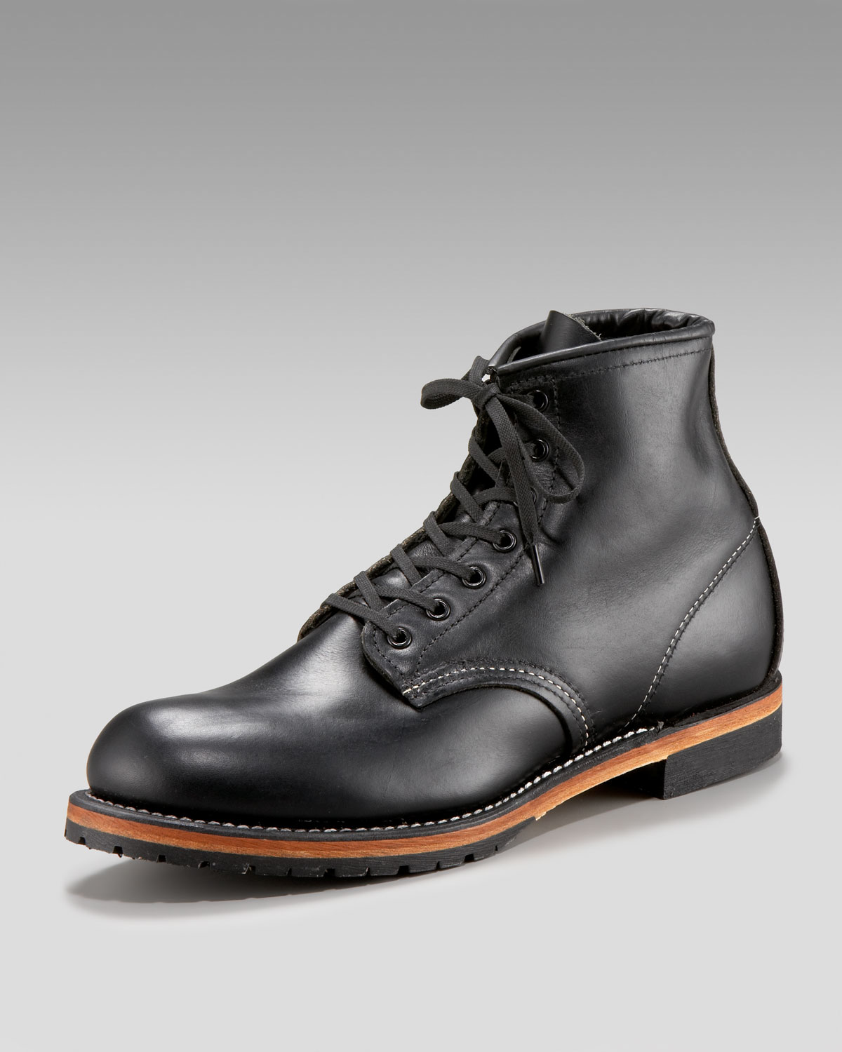 Black Red Wing Boots BDIOLP4M