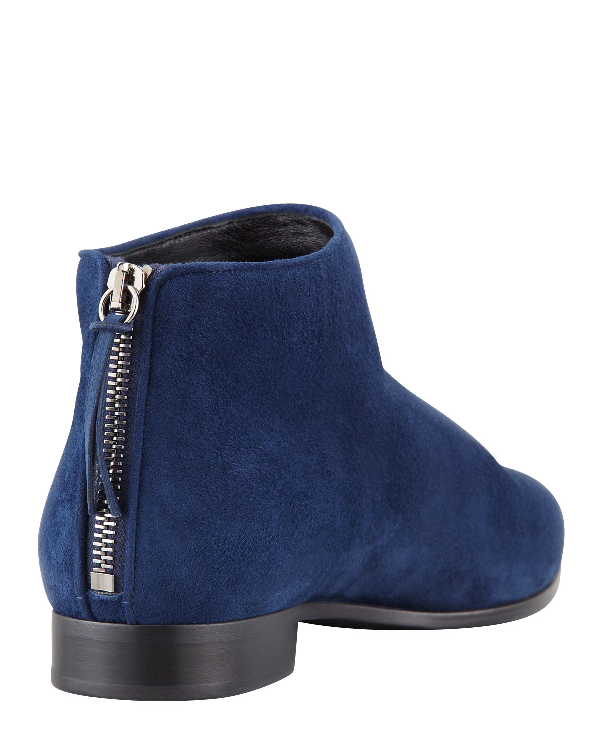 Blue Ankle Boots oF20X0HI