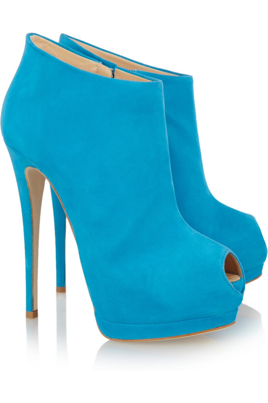 Blue Ankle Boots 4i6rsLIz