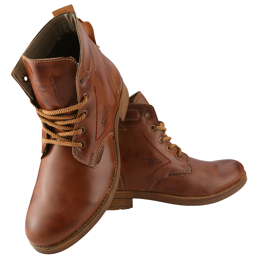 Brown Boots Men cPOPeseg