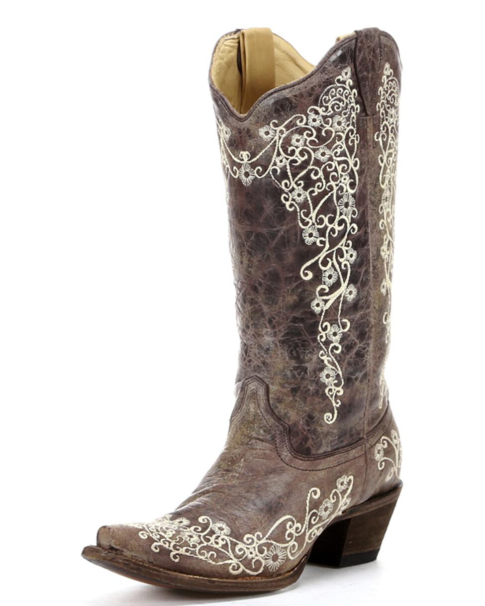 Brown Cowboy Boots For Women Cheap jwEyCPF3