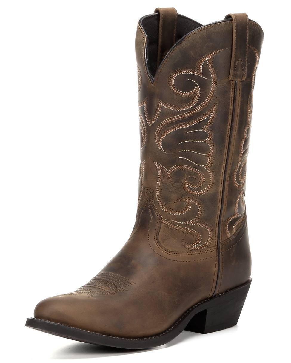 Brown Cowgirl Boots For Women 4J3HDZR9