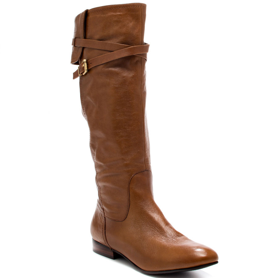 Brown Leather Boots For Women iFR4So5A