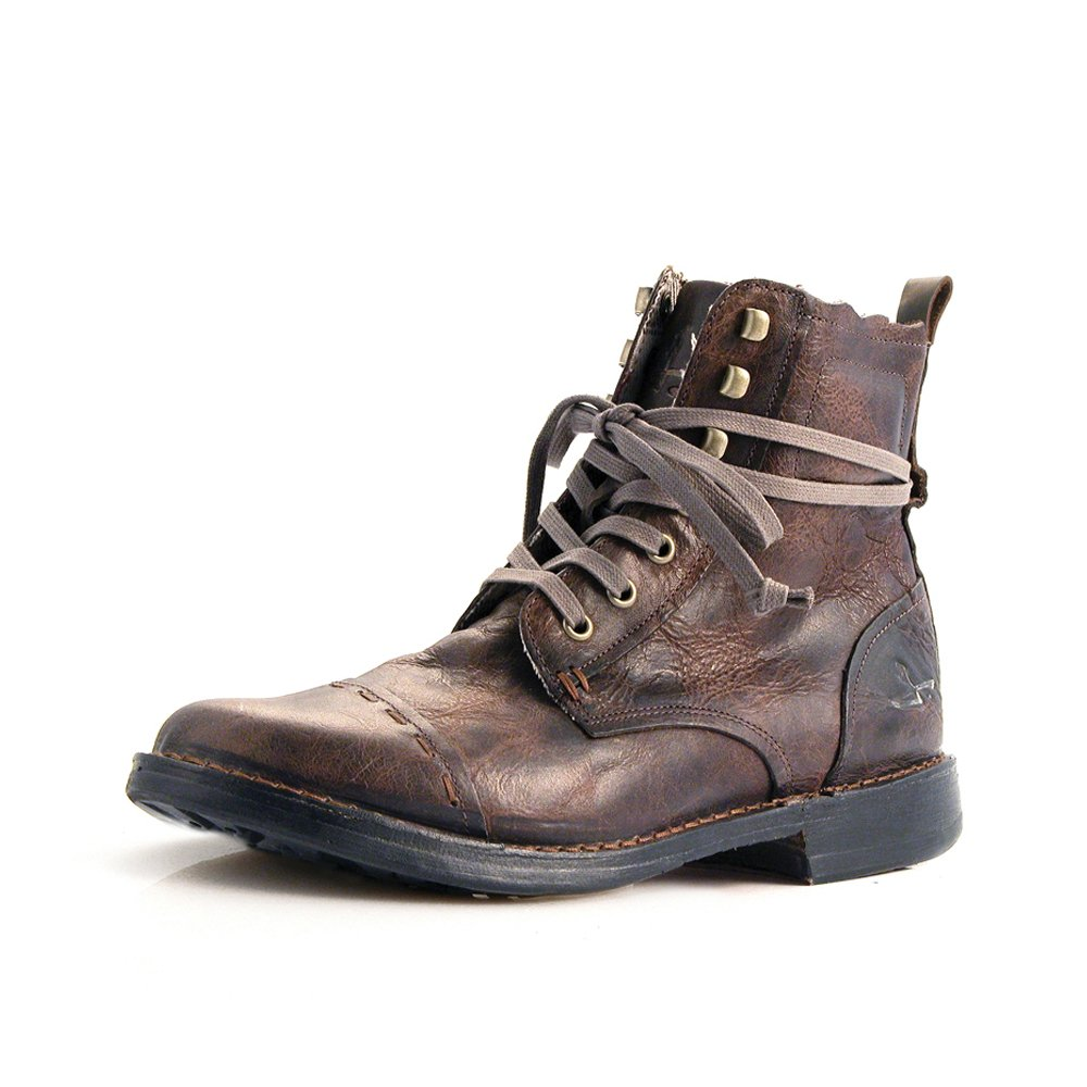 Brown Leather Boots Mens iKYH2NNQ