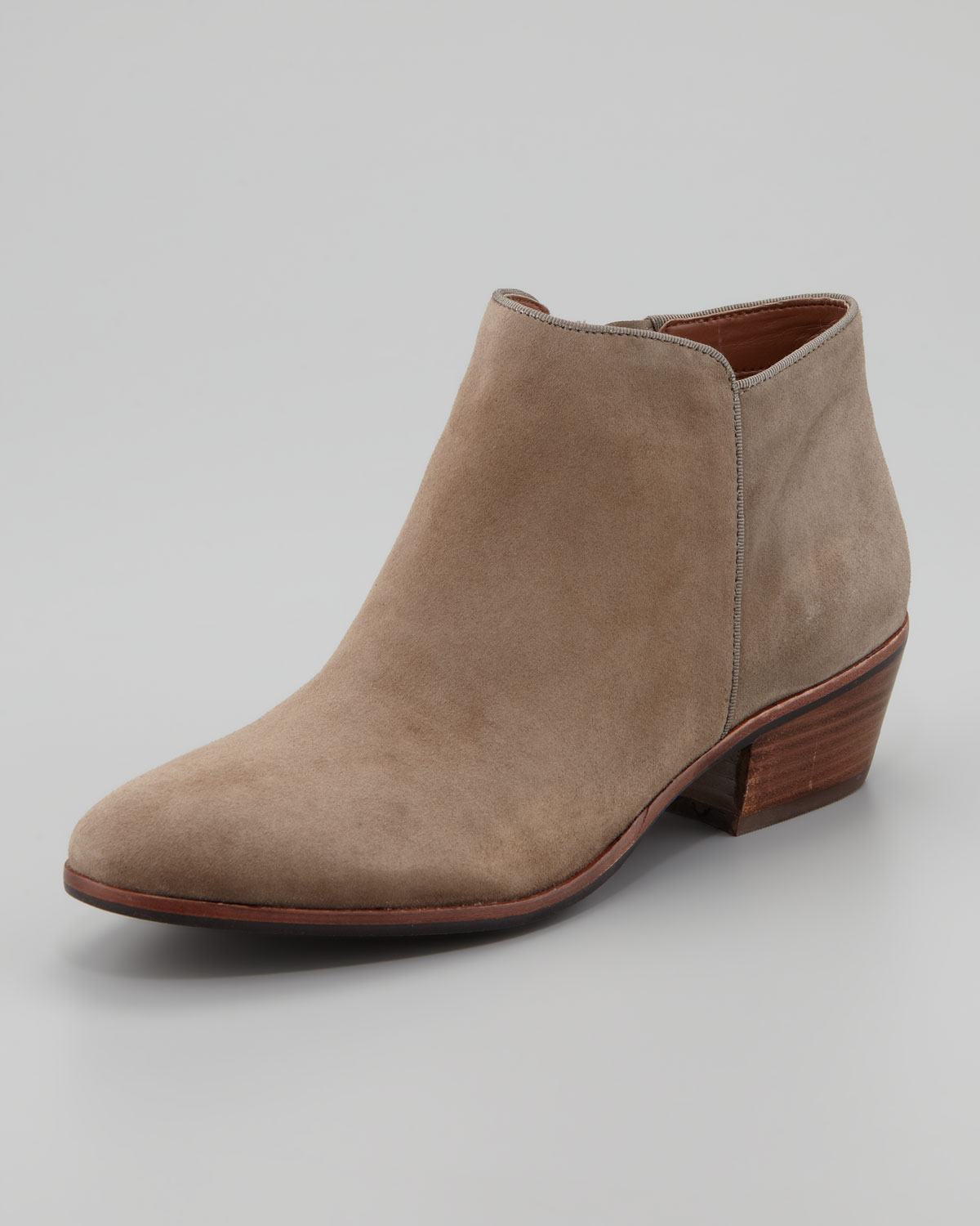 Brown Suede Ankle Boots YVu2f2h9