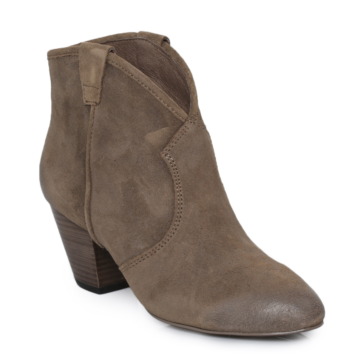 Brown Suede Ankle Boots CiHyHAnK