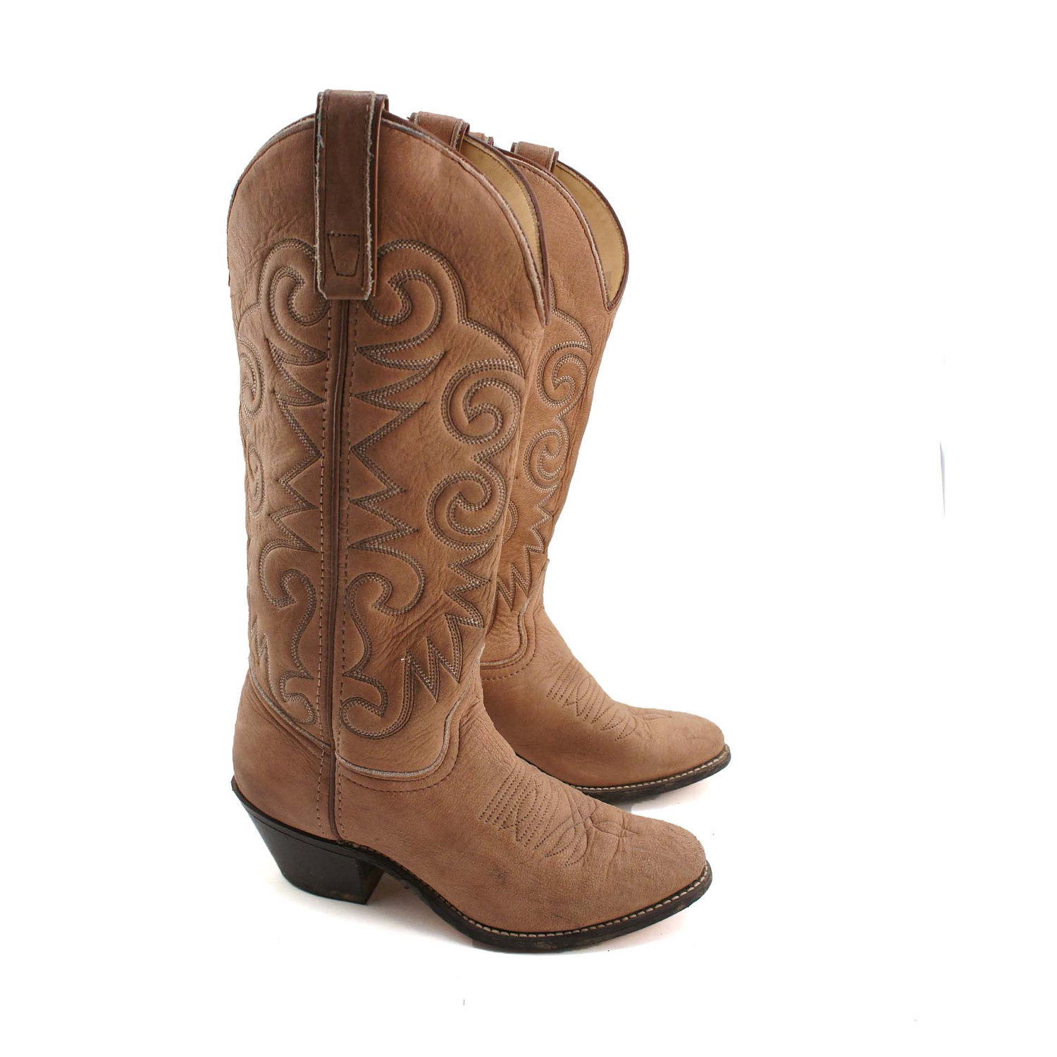 Brown Womens Cowboy Boots ZyR13n1t