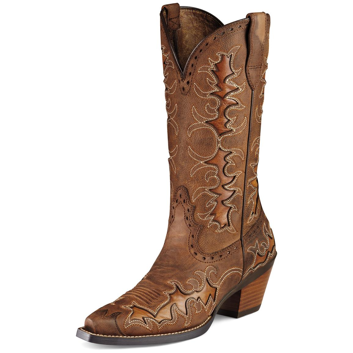 Brown Womens Cowboy Boots LHKdK6d3