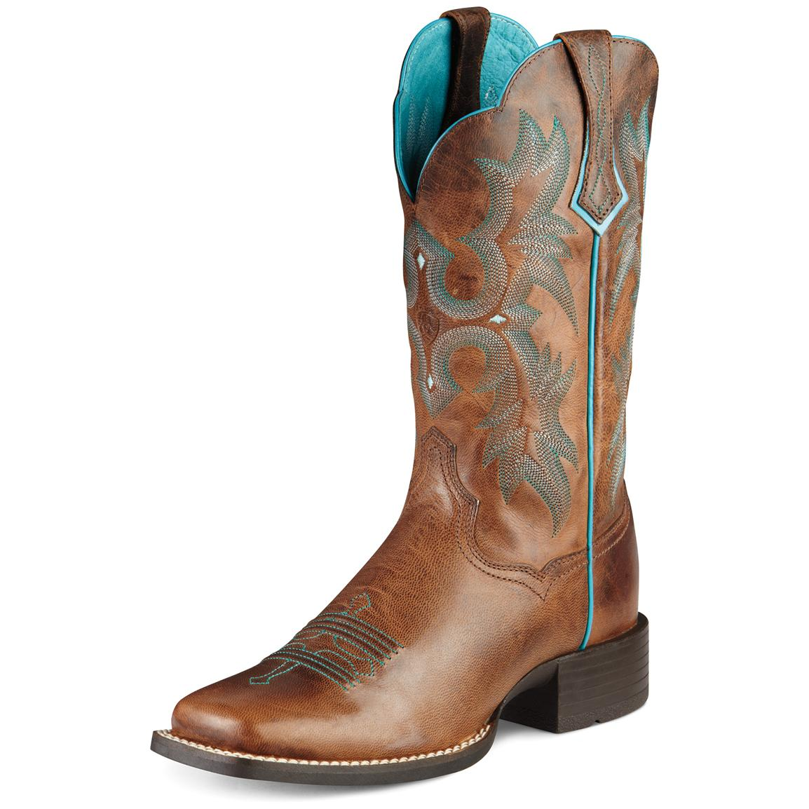 Brown Womens Cowboy Boots KqOshn58