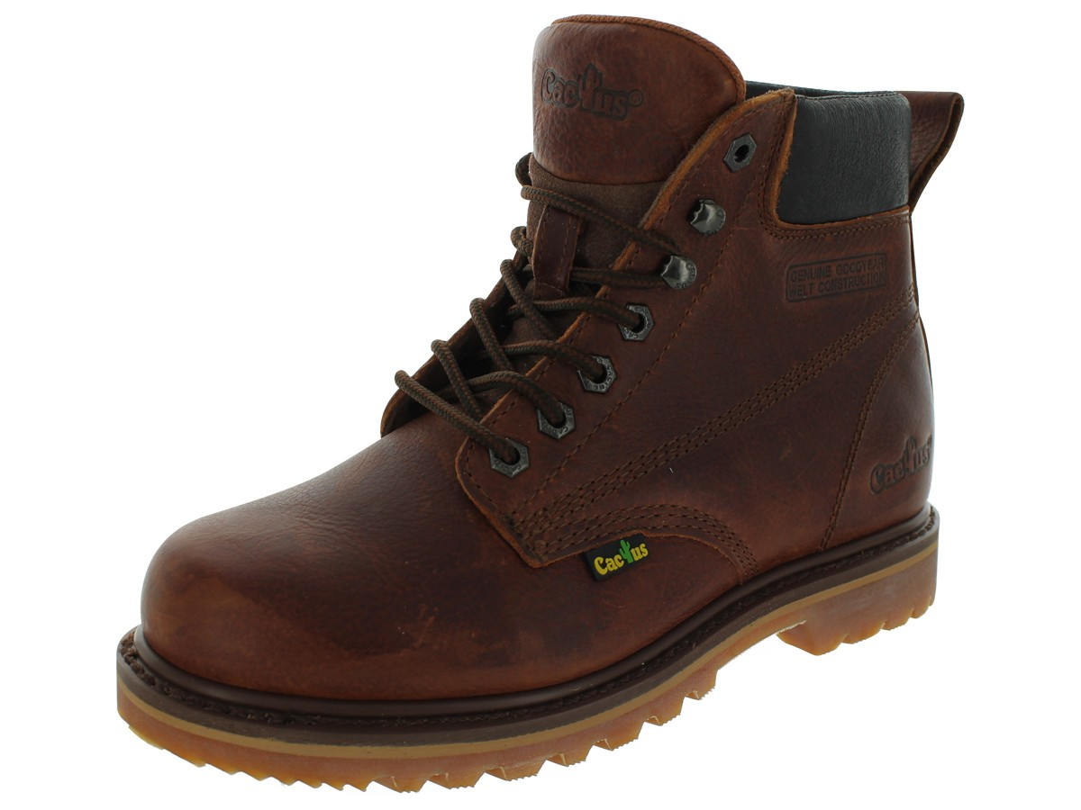 Brown Work Boots KVUDDpjD