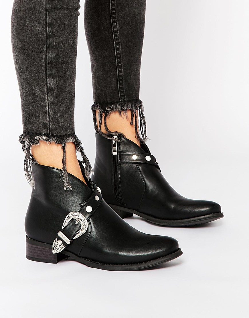 Buckle Ankle Boots lWkiIpbS