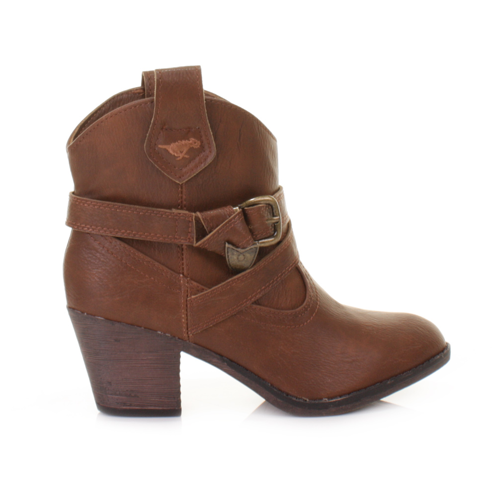 Cowboy Ankle Boots a708557n