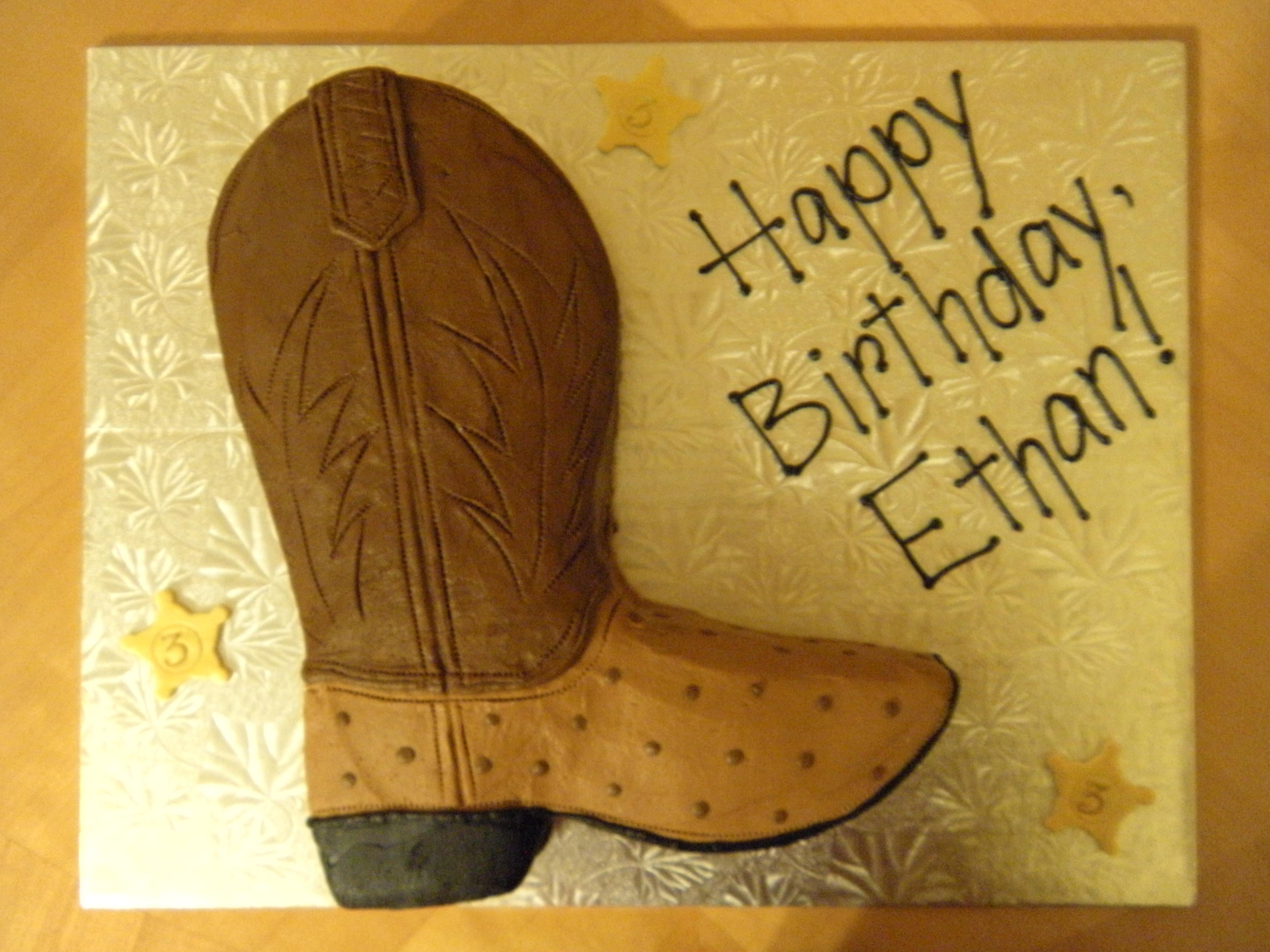 Cowboy Boot Cake Hsll2NUC