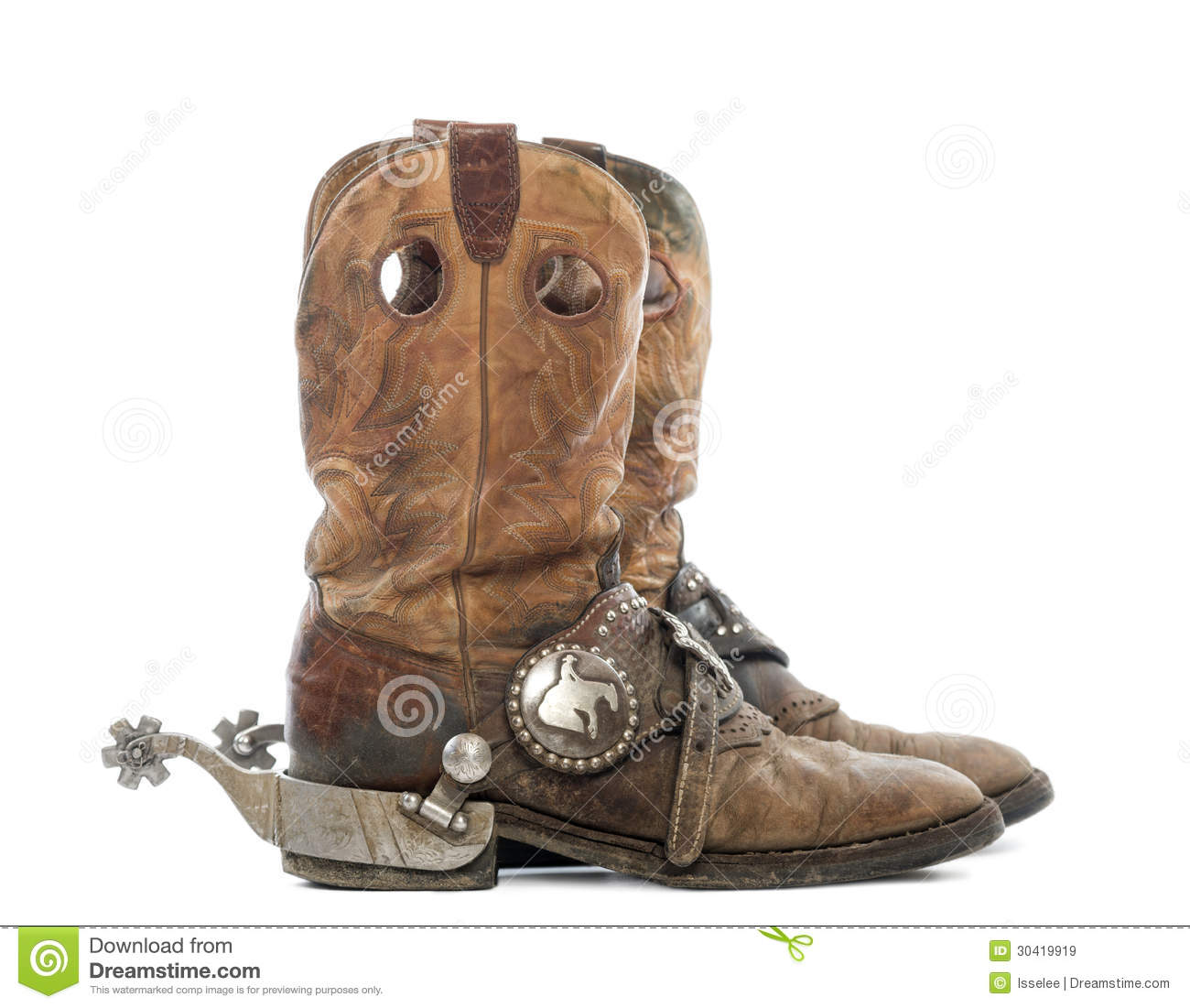pics for gt cowboy boots with spurs for