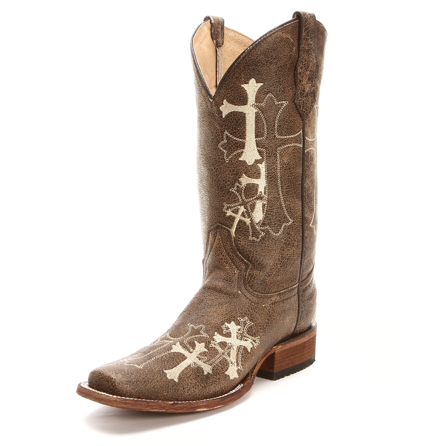 Cowgirl Boots With Crosses 8JJHsVBT