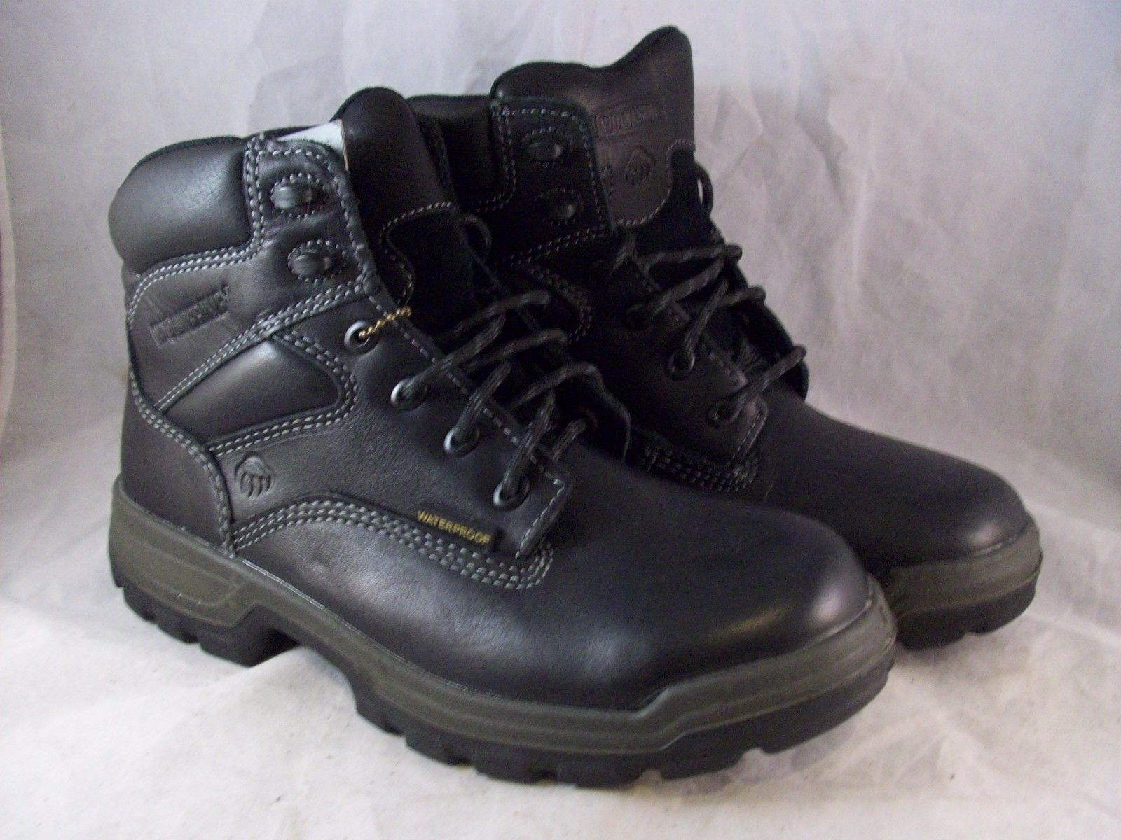 Extra Wide Work Boots 5YlhqxLM