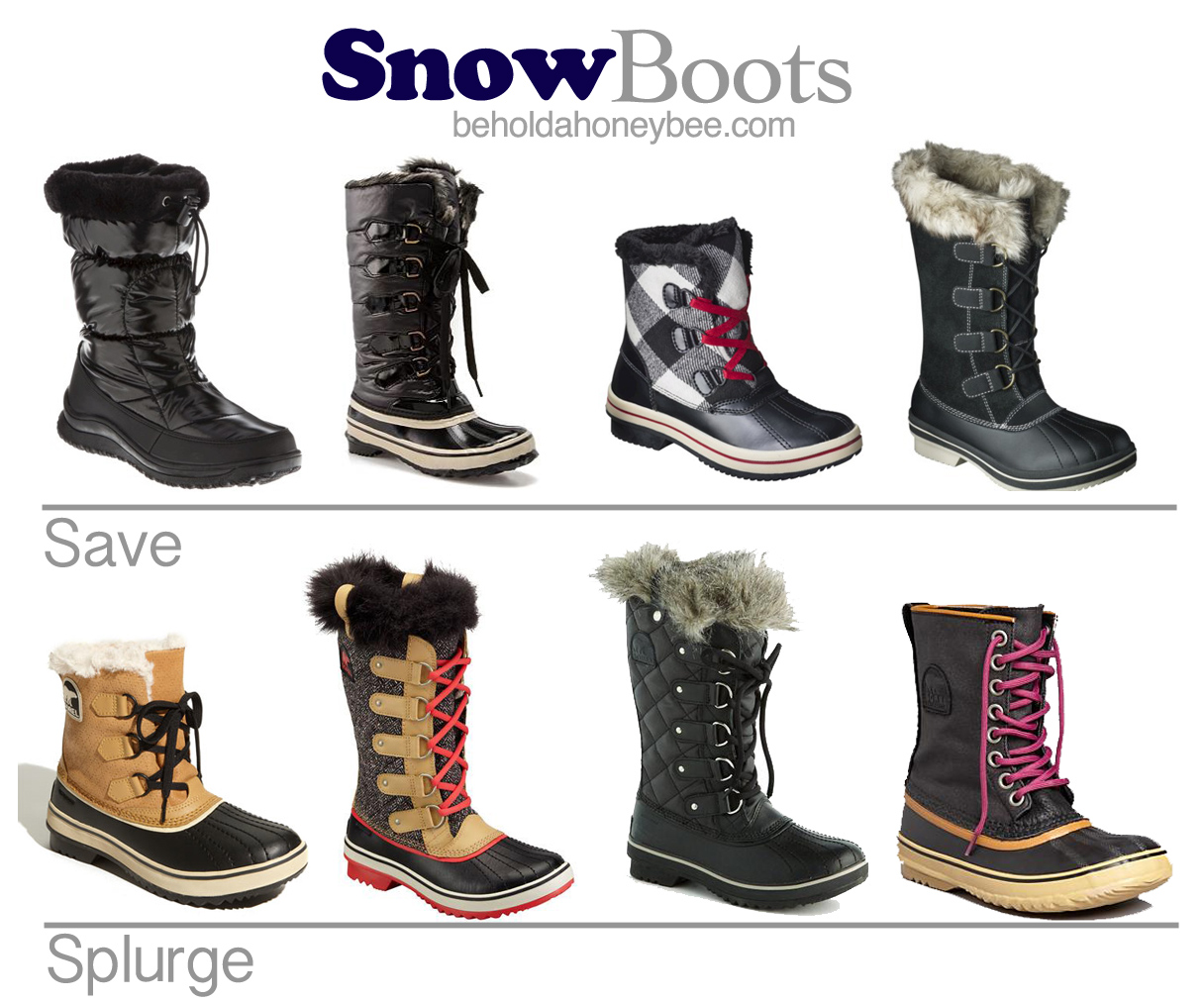 Fashionable Snow Boots MTShcvP1