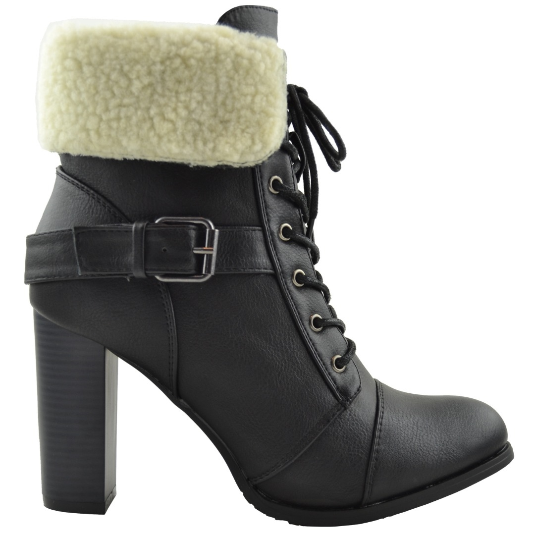 Fold Over Ankle Boots 0Ay6IKeJ