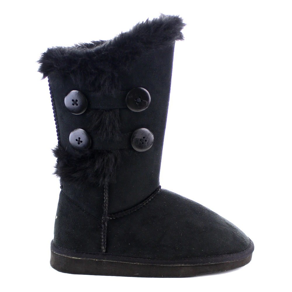 Furry Snow Boots clyA47f2