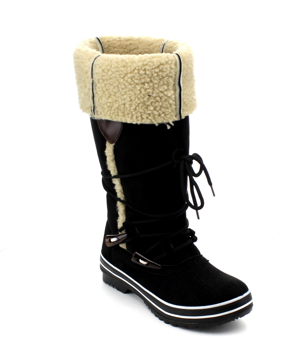 Furry Snow Boots HJw1wjkE