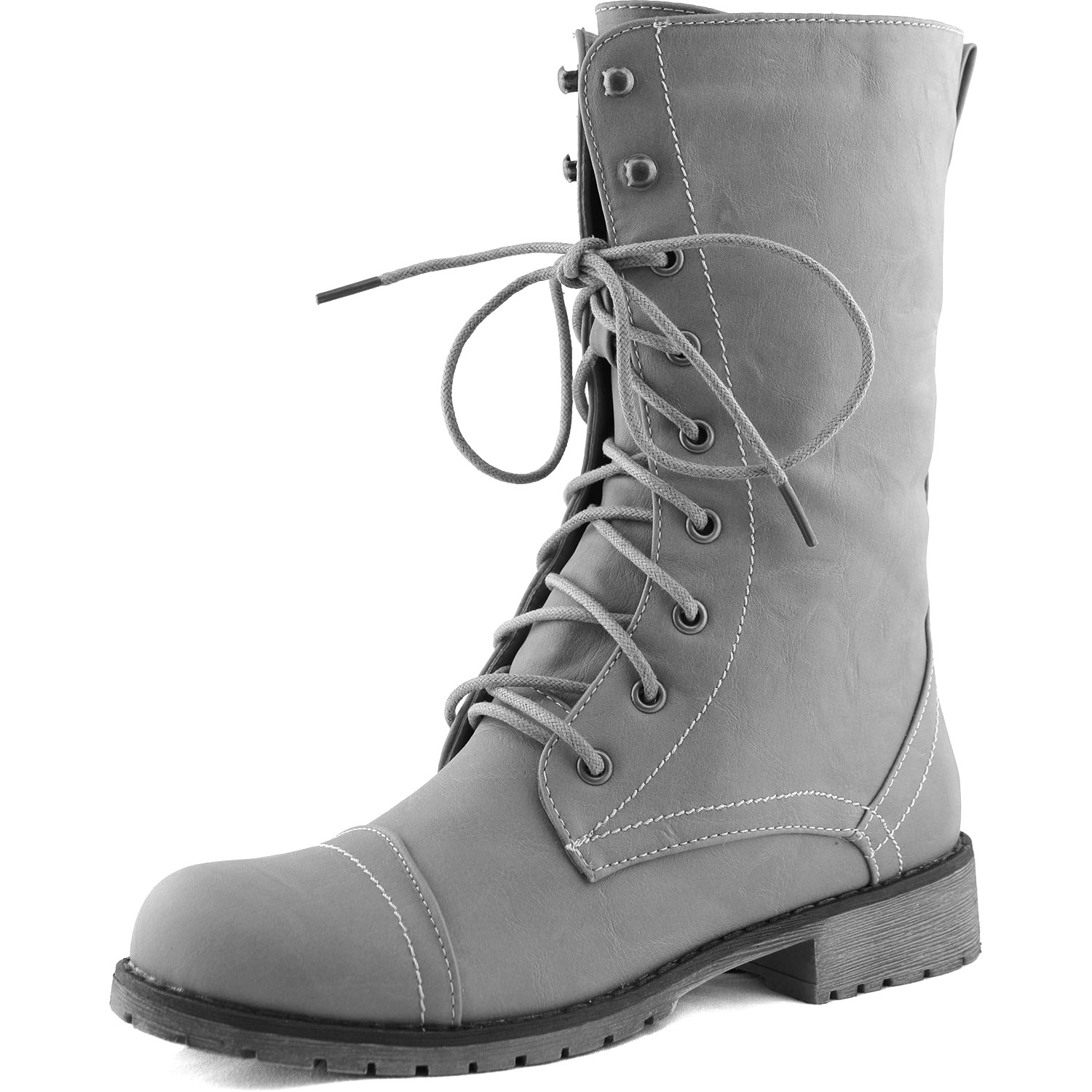 Gray Combat Boots r8iC84hD
