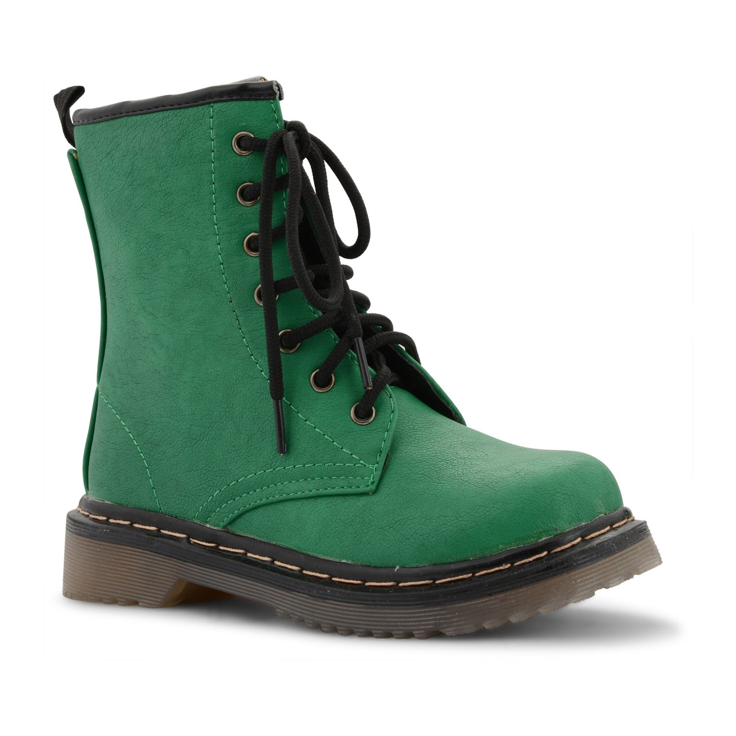 Green Combat Boots Boot Yc
