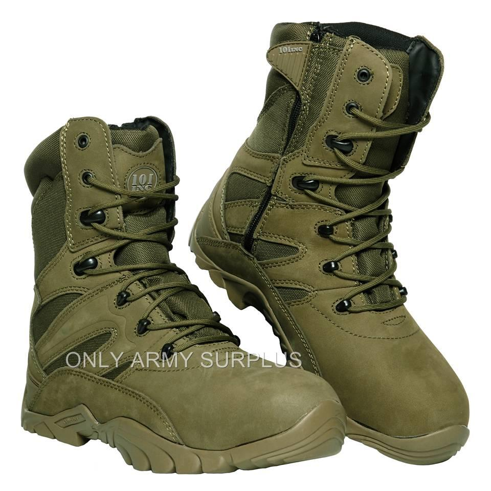 Green Combat Boots 04EacjG9