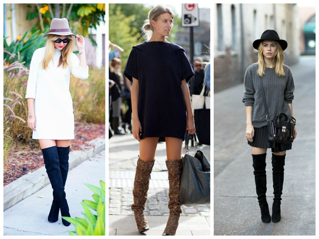 How To Wear Thigh High Boots sQDvZptk