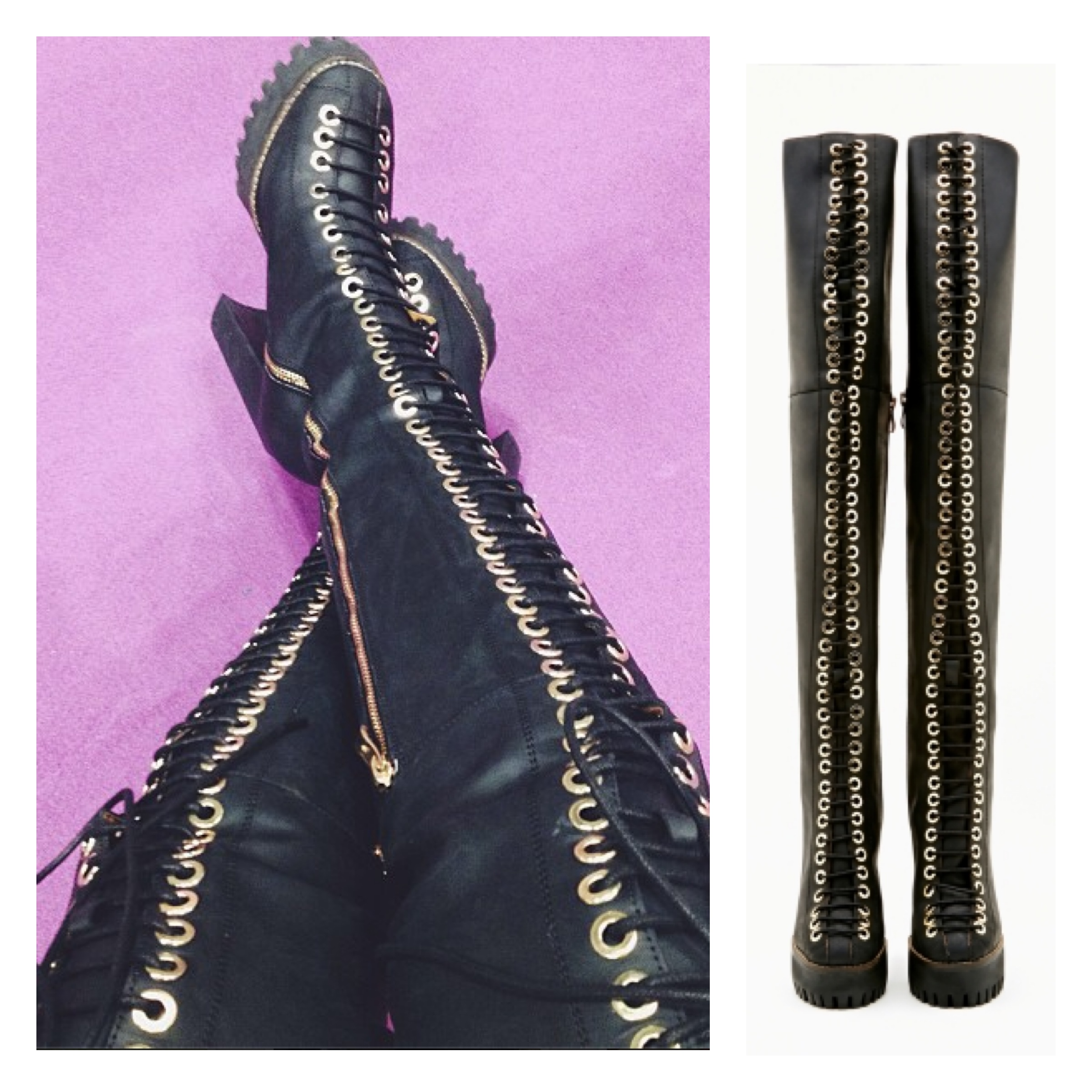 Jeffrey Campbell Thigh High Boots r6O1LYiF