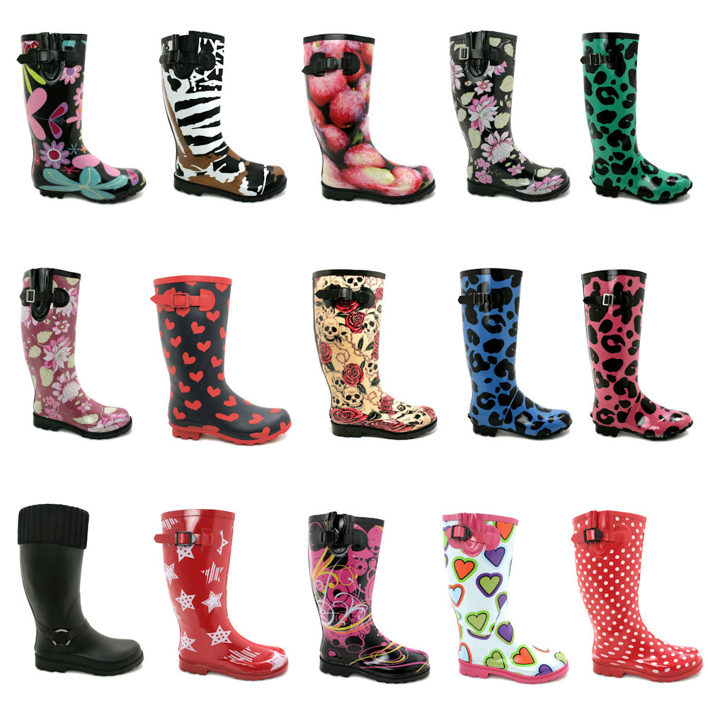 Knee High Rain Boots c6Ox4lq1
