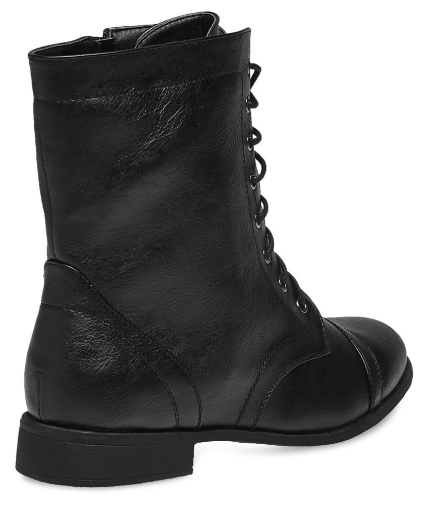 Lace Combat Boots GbYtCaEI