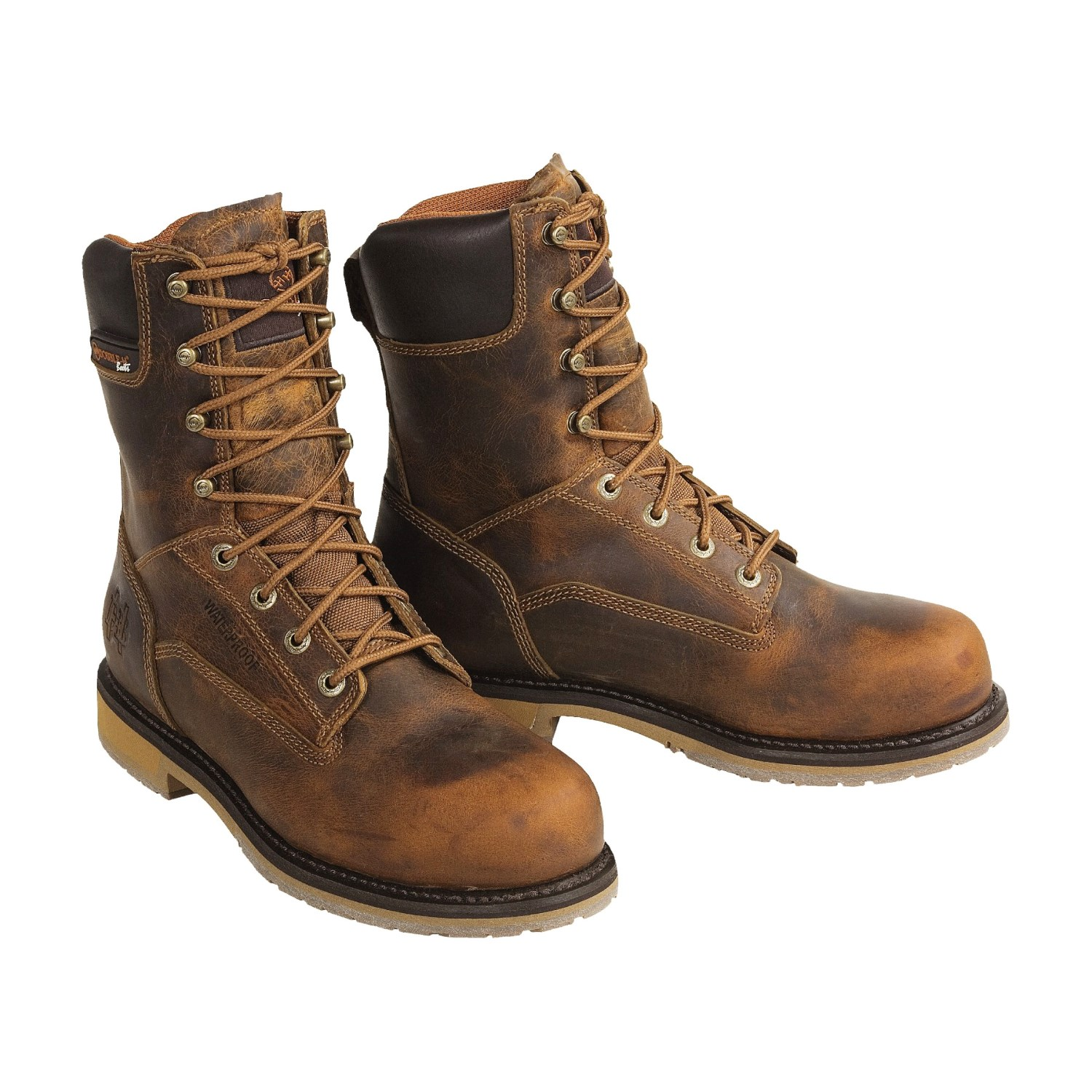 Lace Up Work Boots sGzzx86U