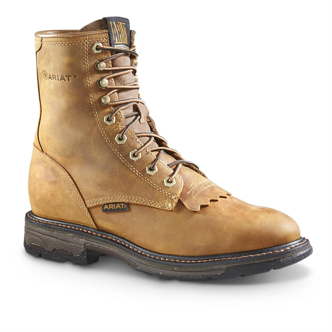 Lace Up Work Boots JkS1IHxl