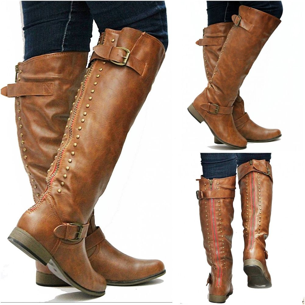 Leather Riding Boots For Women XIYq8Zdm