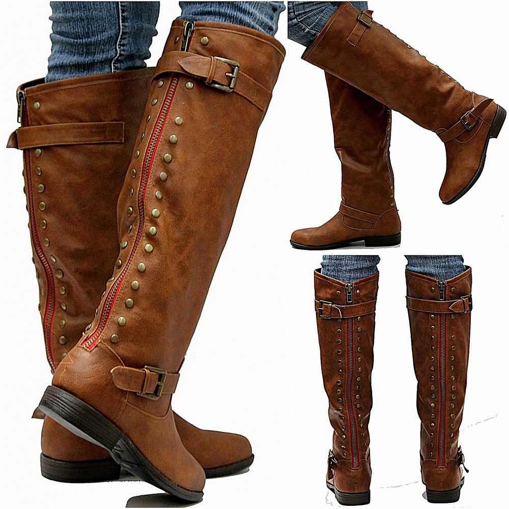 Leather Riding Boots For Women TDgrMryr