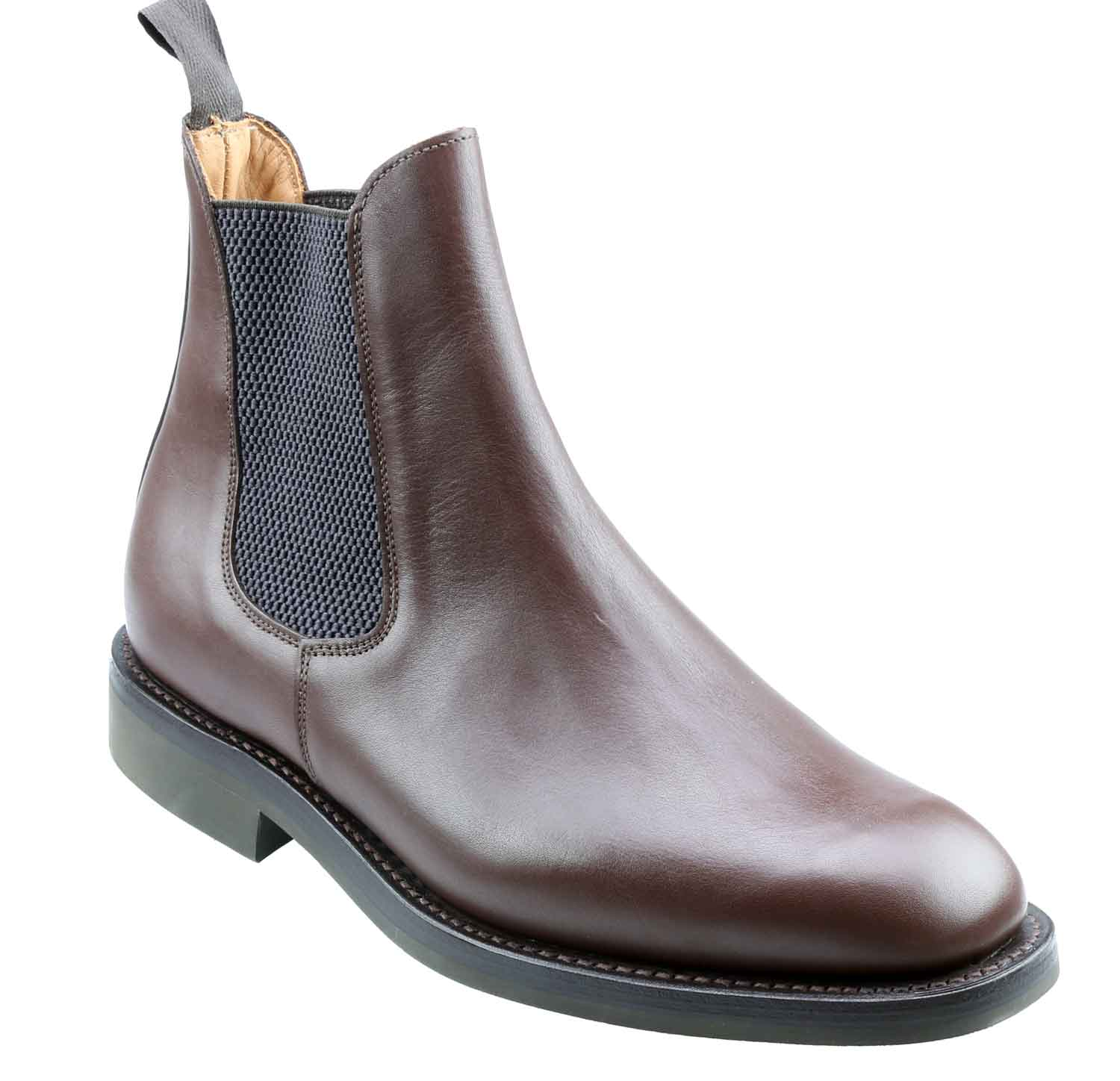 Mens Brown Chelsea Boots AlmKSll2
